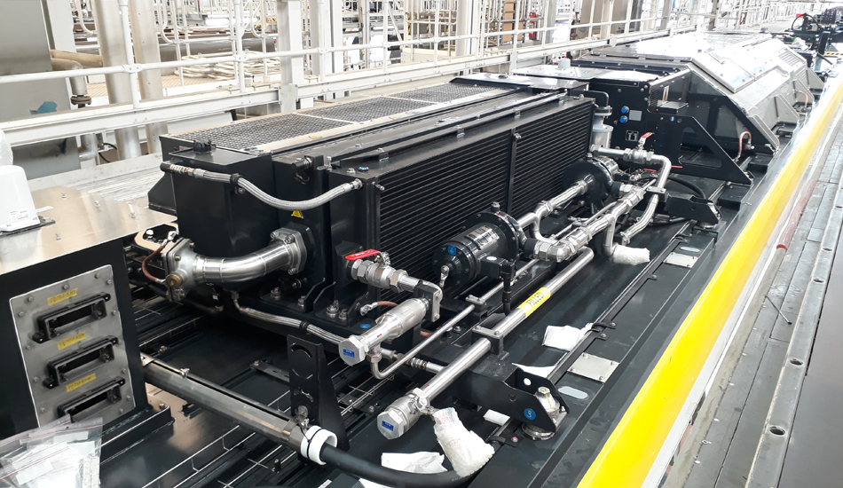 Cooling system integration capability